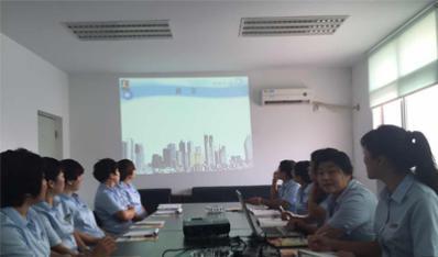 天津公司营业部开展制度和软件 再次培训工作