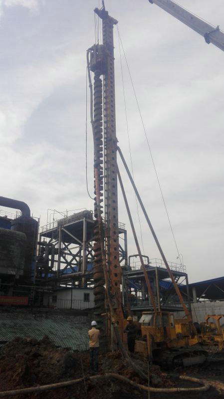 超流态压灌混凝土桩施工