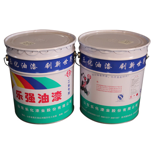 Anticorrosive paint of epoxy coal tar pitch