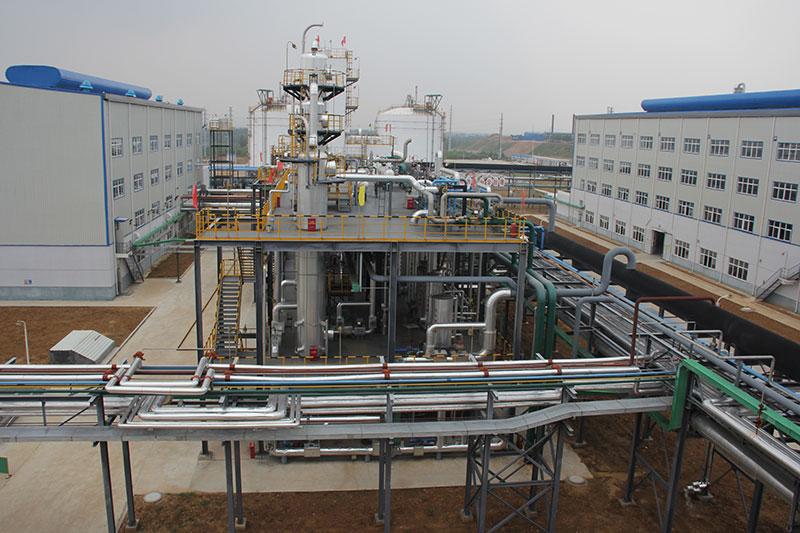 液化厂房、液化装置、压缩厂房