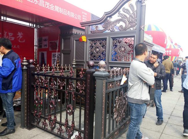 铸铝门及铝艺护栏展示