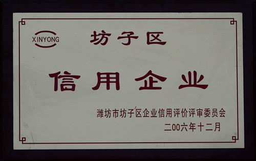 2006-坊子区信用企业
