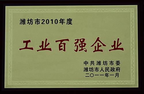 2011-10年度工业百强企业