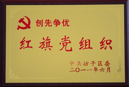 2011创先争优红旗党组织