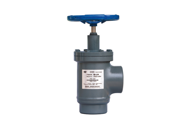 Right angle forged steel cut-off valve, cut-off valve series