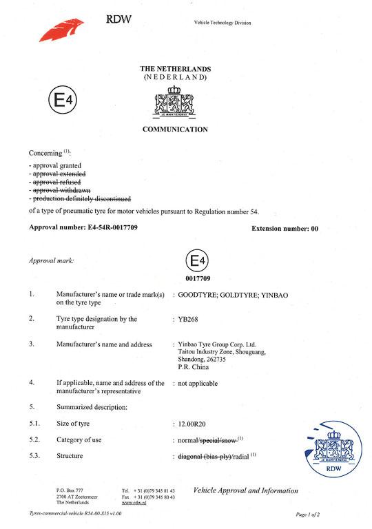 欧洲ECE认证