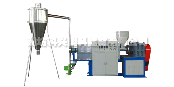 PVC GRANULATING PRODUCTION LINE