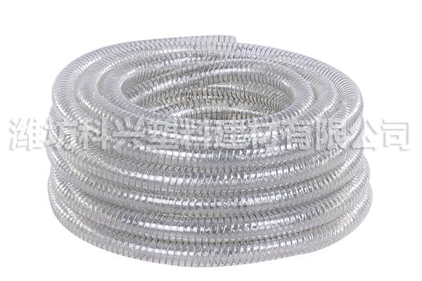 PVC鋼絲螺旋增強軟管