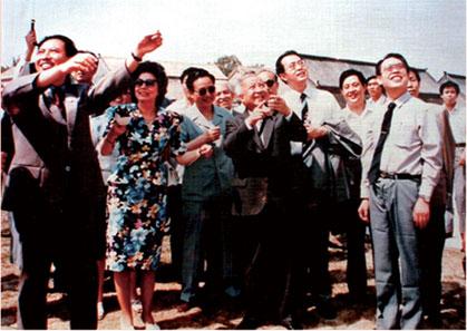 柬埔寨国王西哈努克在杨家埠