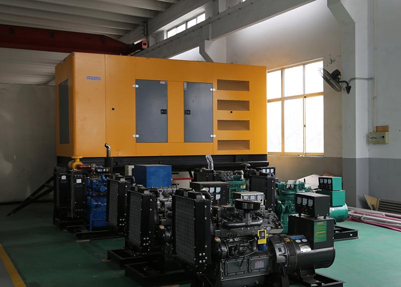 发电机组展厅