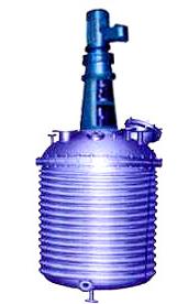外盤半管式加熱不銹鋼反應釜(300L-15000L)