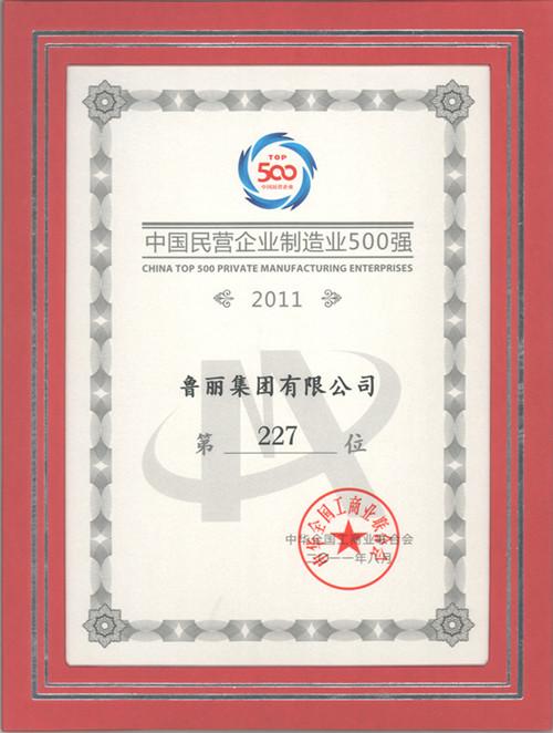 中國民企制造業百強