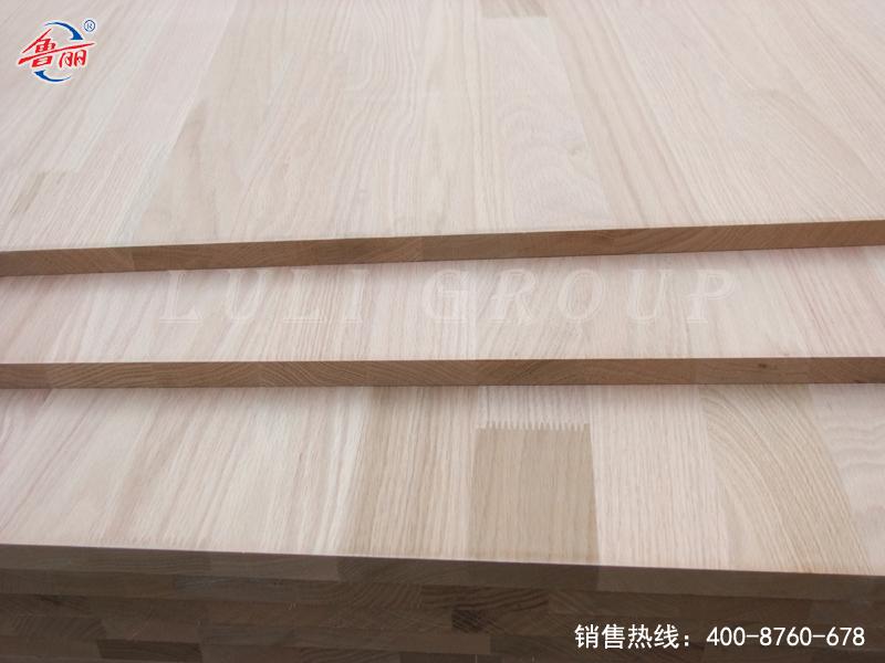 Red oak laminated board