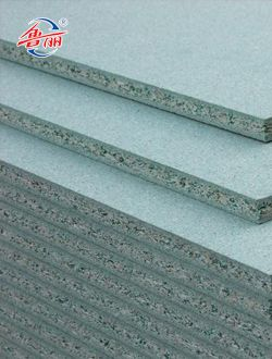 Green moisture-proof Hardwood E1 particle board