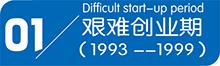 艰难创业期(1993-1999)