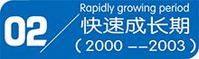 快速成长期(2000-2003)