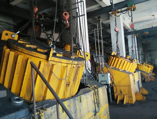 矿用隔爆型电磁除铁器使用现场