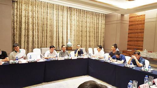 2016年磁电战略联盟会,北京中矿东方矿业代表发言