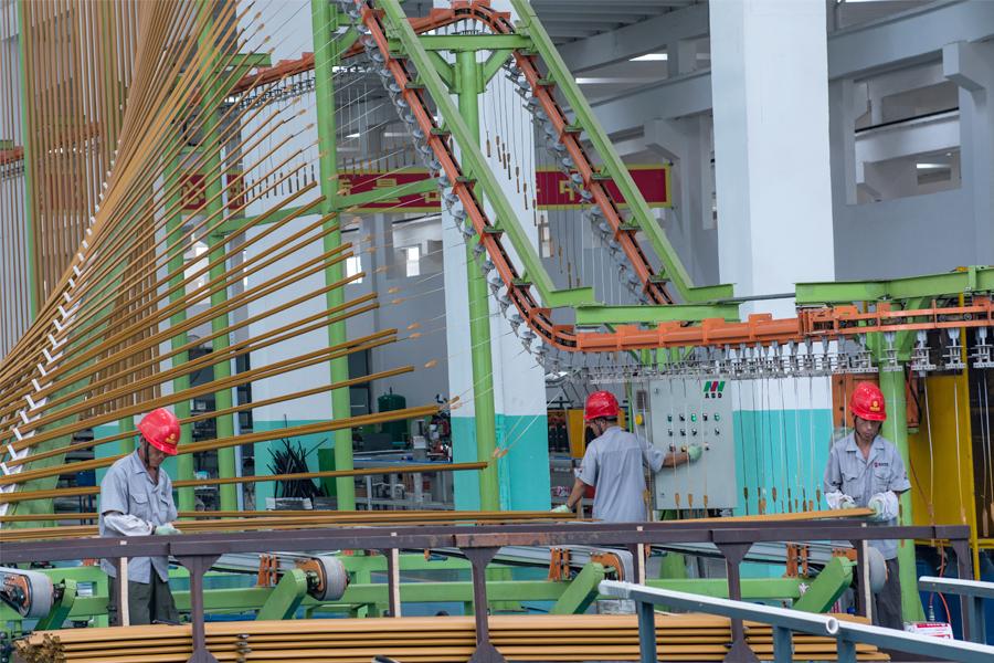 Vertical Coating Worker