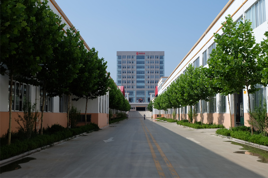 Two branch factory area