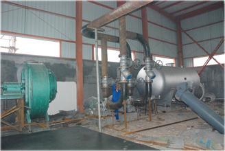 导热油锅炉安装现场