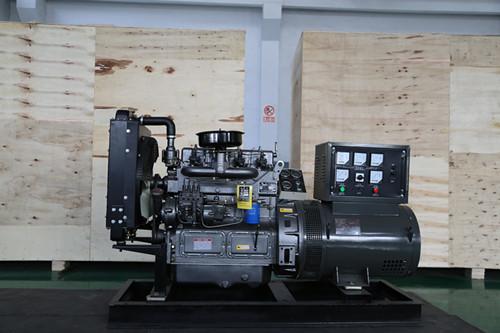 30KW有刷柴油发电机组