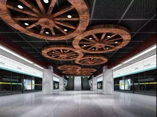 成都地铁七号线照明工程