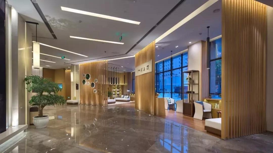 亚朵酒店照明案例
