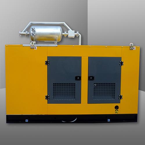 燃气静音发电机组