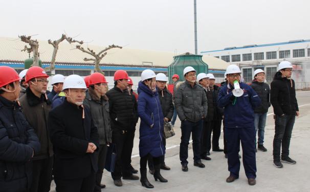 昌乐县企业代表到乐化观摩学习双重预防体系建设