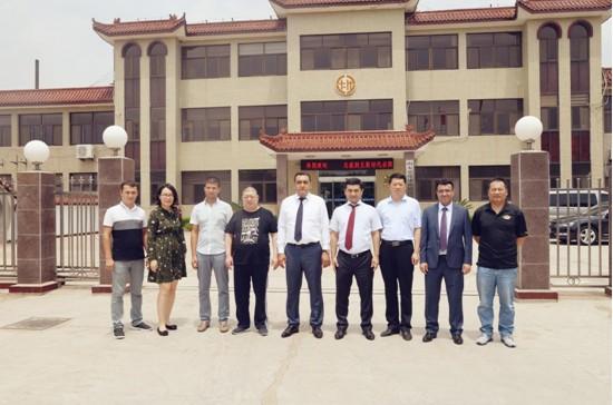 乌兹别克斯坦代表团考察乐化