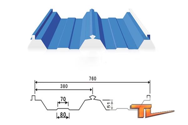 压型彩钢板-760