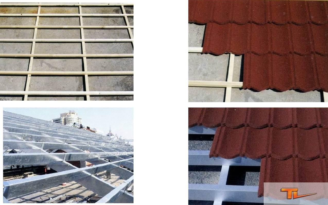 屋面金属彩石瓦