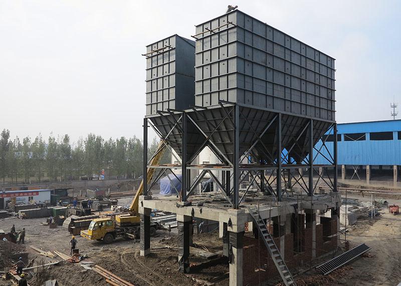 潍坊电厂锅炉除尘器安装