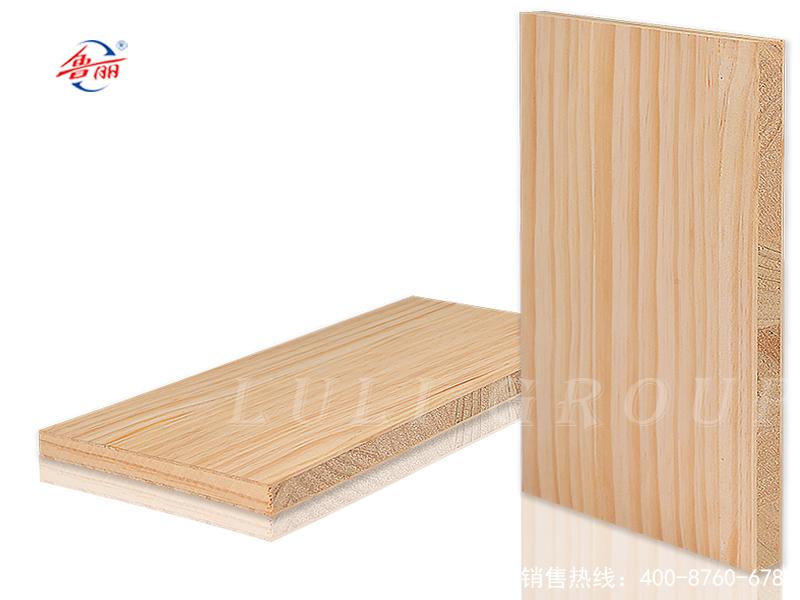 实木结构板贴辐射松木皮