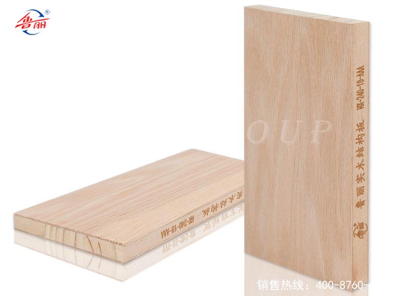 实木结构板贴红橡木皮(无UV)