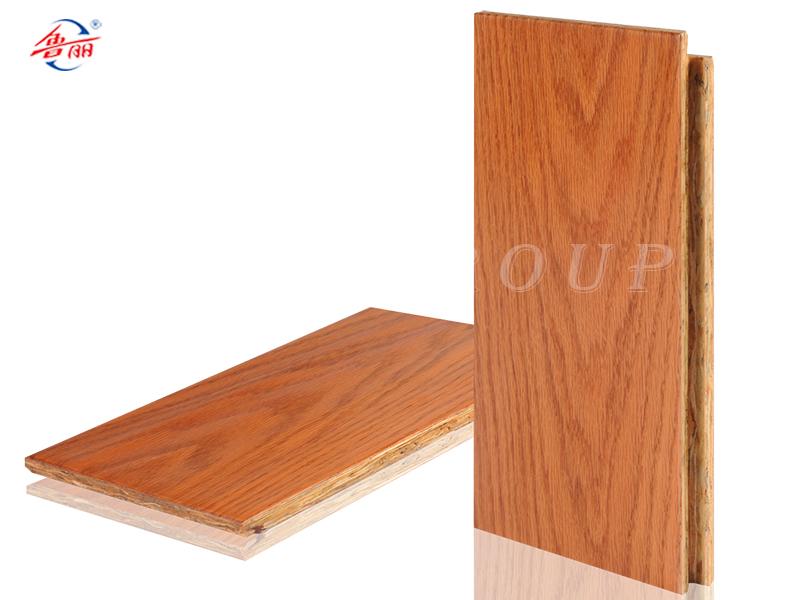 OSB新型强化地板--橡木人字拼色