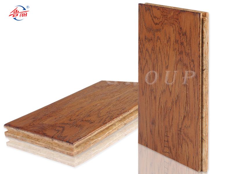 OSB新型强化地板-仿古手抓纹系列 富贵山核桃