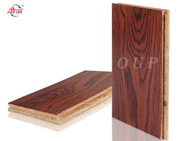 OSB新型强化地板-仿古手抓纹系列 珍品橡木