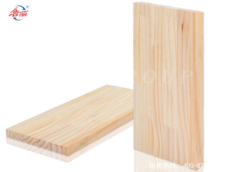 Pine board straight