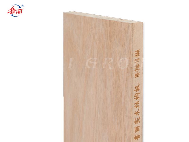 Red oak wood  structure board