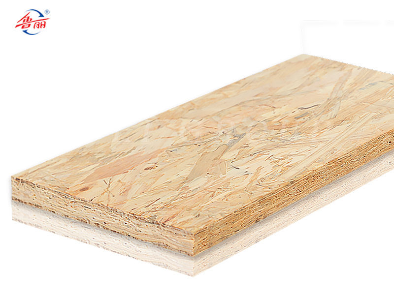 Three layer OSB flooring substrate