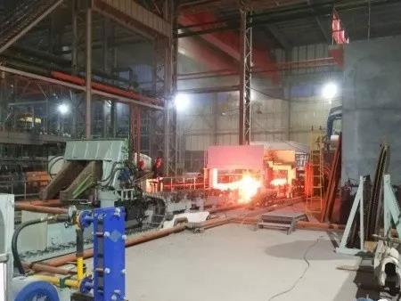 无缝澳门威尼斯人项目159AⅠ线一次性全线热试成功