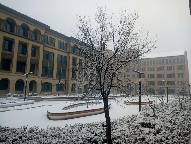 北大公学雪景