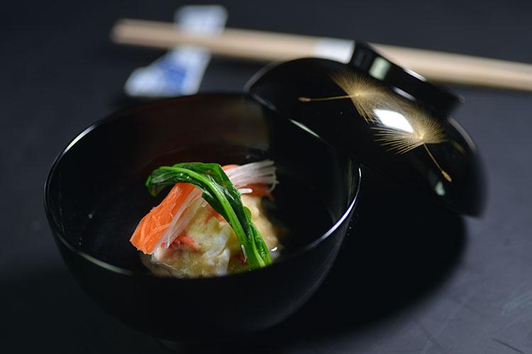 椀物——雪蟹真丈烧