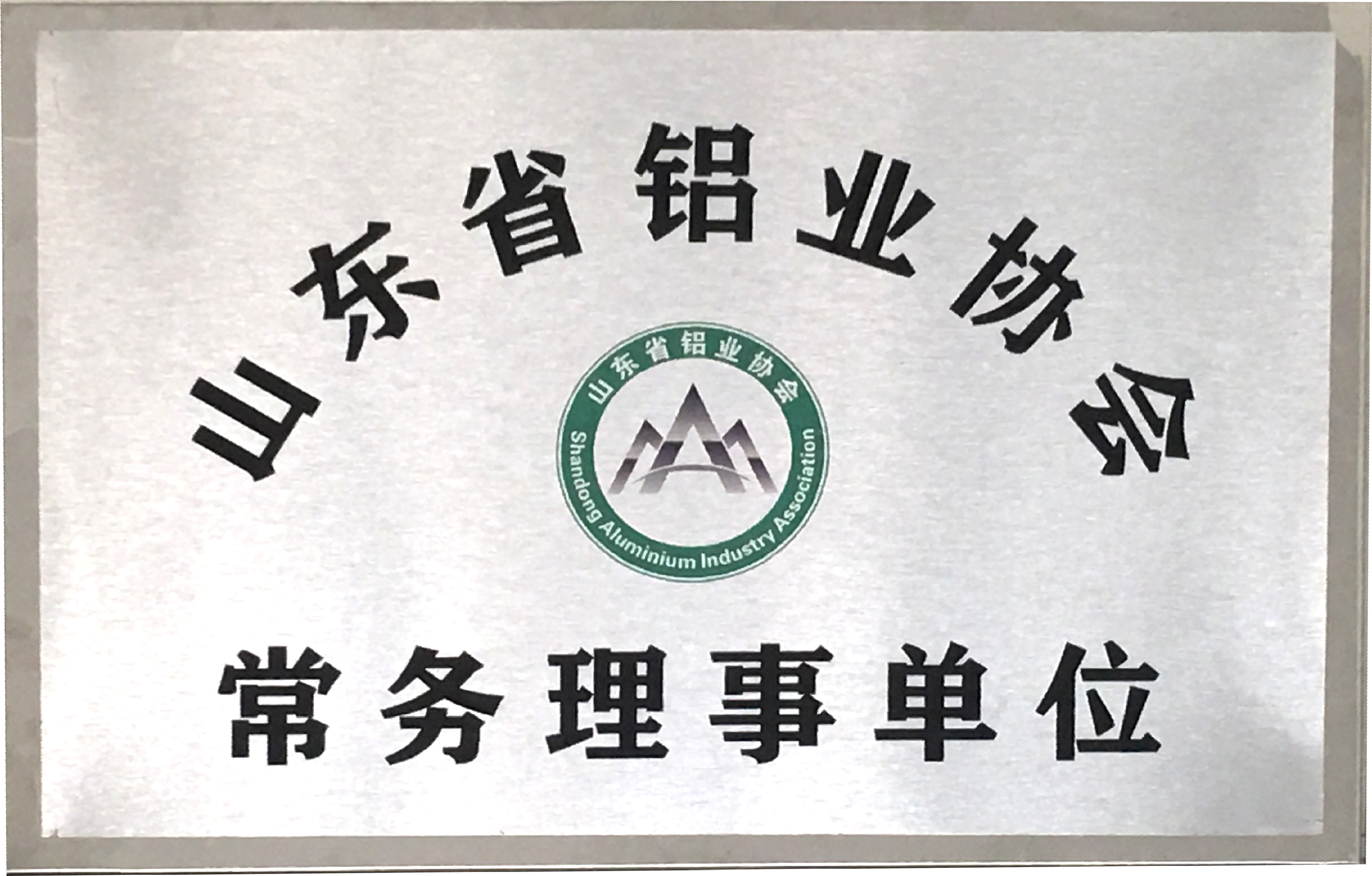 山东省铝业协会常务理事单位
