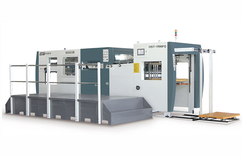 Semi automatic die cutting (stripping) machine OST-1100F(Q)