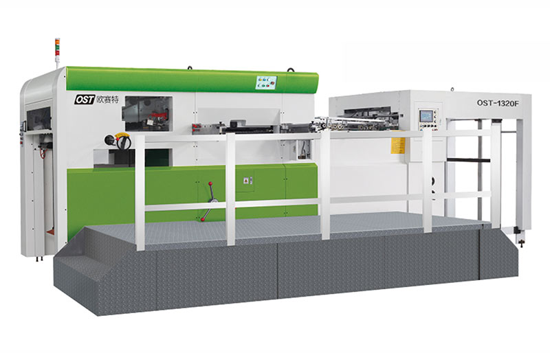 Semi automatic die cutting (stripping) machine OST-1320F(Q)/OST-1520F(Q)