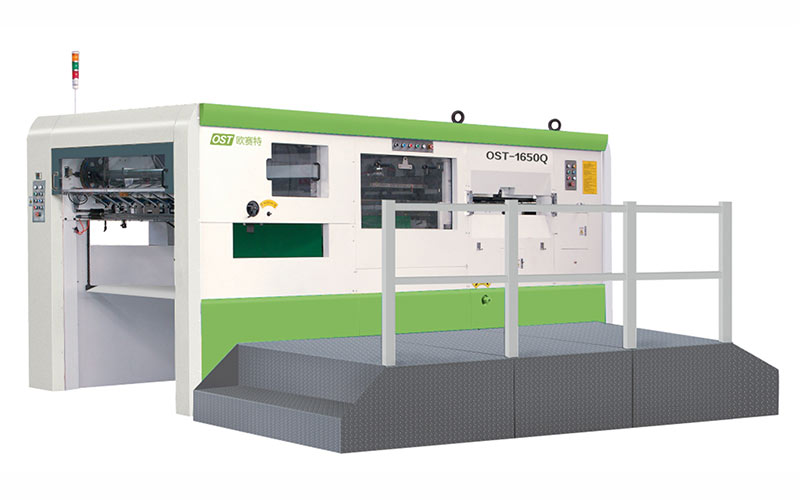 Semi automatic die cutting (stripping) machine OST-1300/1500/1650/1880(Q)B