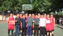 篮球比赛,共筑友谊——鲁丽77彩票首届职工篮球友谊赛圆满结束